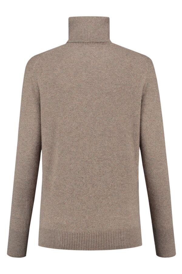 Filippa K Cashmere Roller Neck Sweater Taupe - 25309 8569