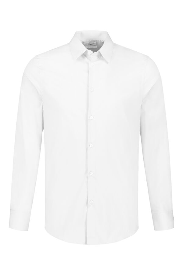 Filippa K James Stretch Shirt White - 26149 1009