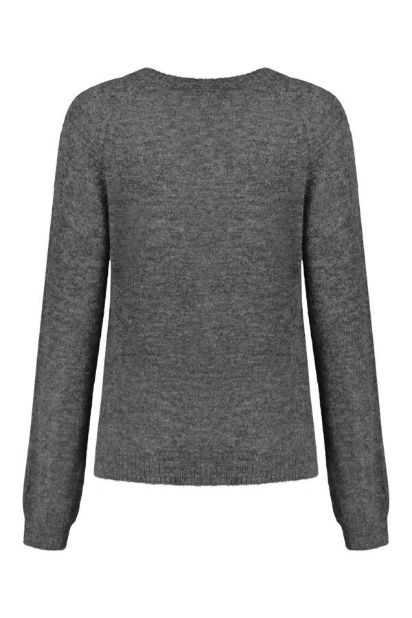 Leon and Harper Mayonessou Pullover Carbone