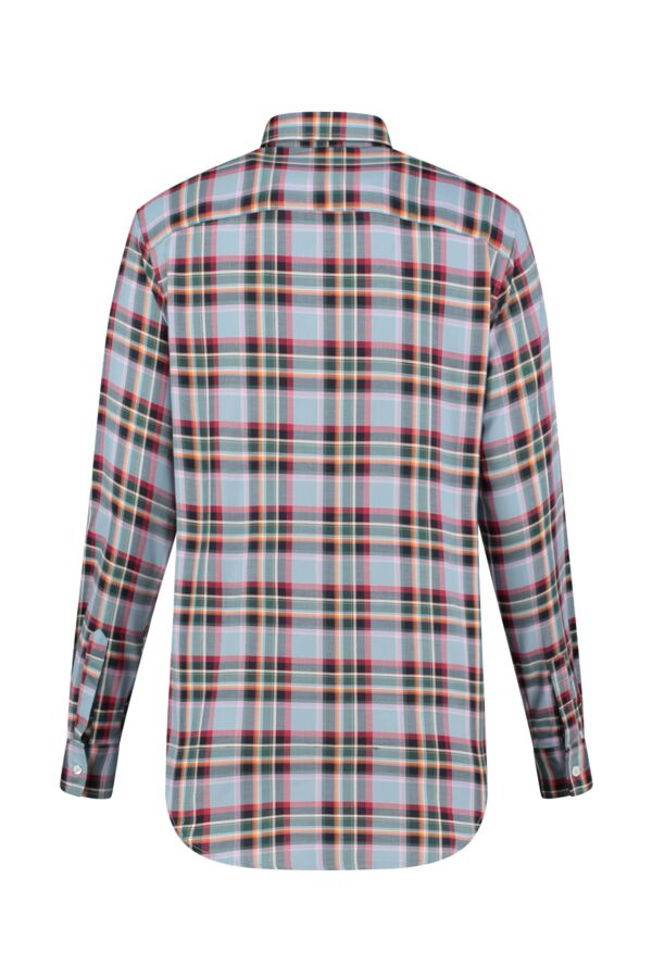 Bloom Fashion Blouse Ruit Grijs - 1105 55312 001