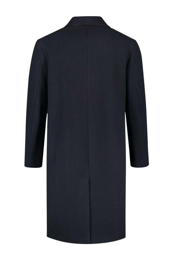 Filippa K Lyon Wool Coat Dk. Navy - 26479 1082