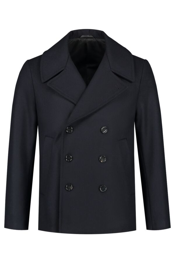 Filippa K Hague Pea Coat Blue Black - 26480 8551
