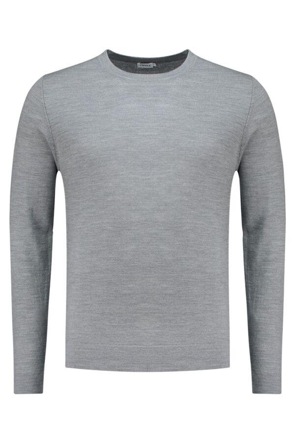 Filippa K Merino Sweater Grey Mel. - 25965 1448