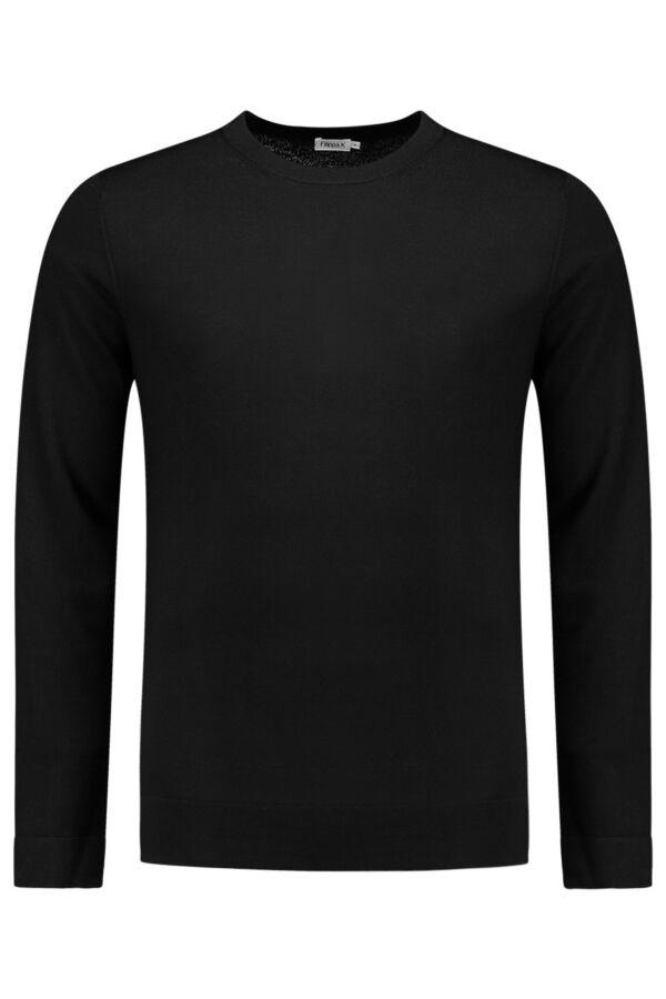 Filippa K Merino Sweater Black - 25965 1433