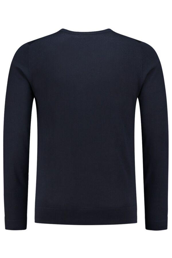 Filippa K Merino Sweater Navy - 25965 2830
