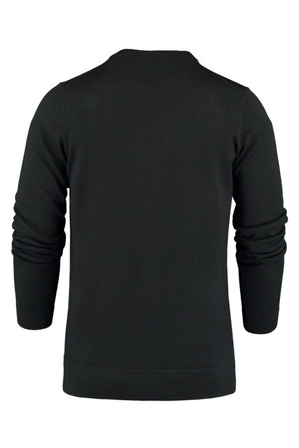 Filippa K Merino V-Neck Sweater Black - 25966 1433