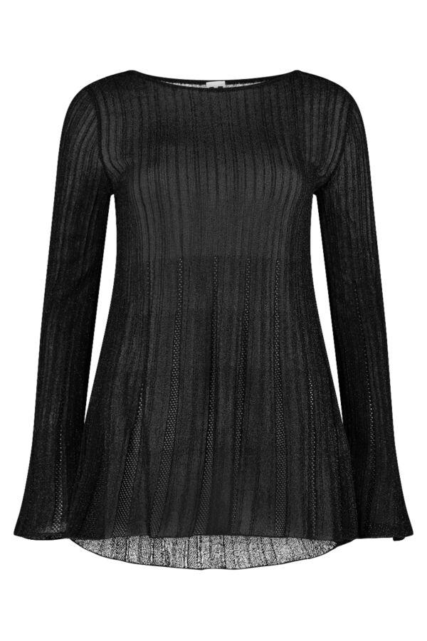 MMissoni Knit Tuniek Black Beauty Lurex -  2DN00139 2K003I L900T