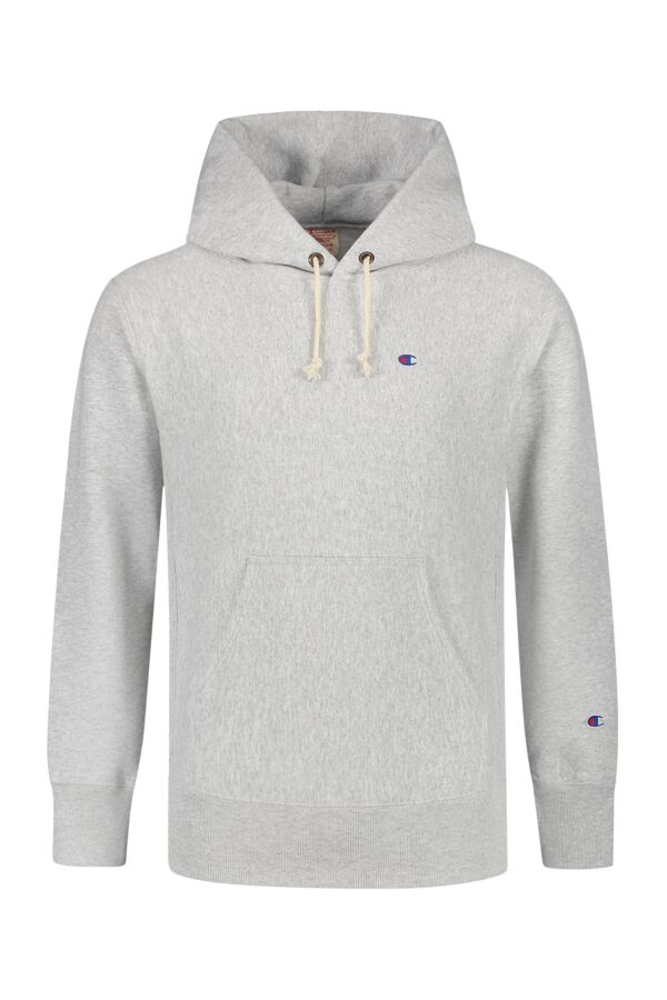 Champion Hooded Sweatshirt Grey Melange - 213606 EM004 LOXGM