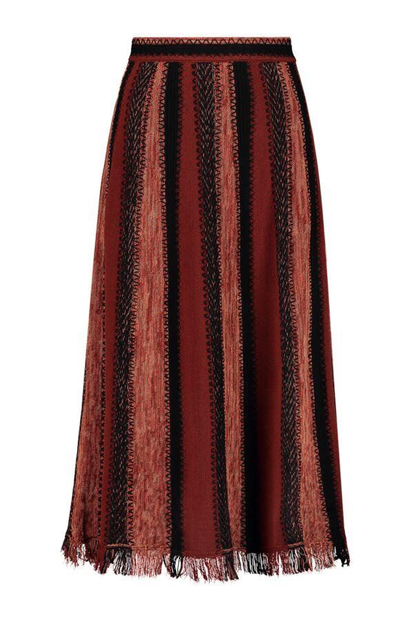 MMissoni Knit Skirt Fired Brick - 2DN00082 2K003B S403Y