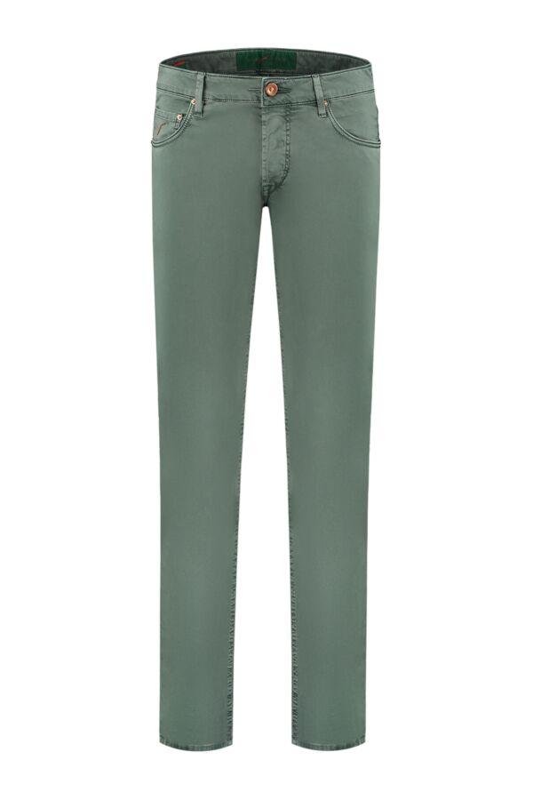 Hand Picked Orvieto Slim Fit Pants - Orvieto 01960V 760