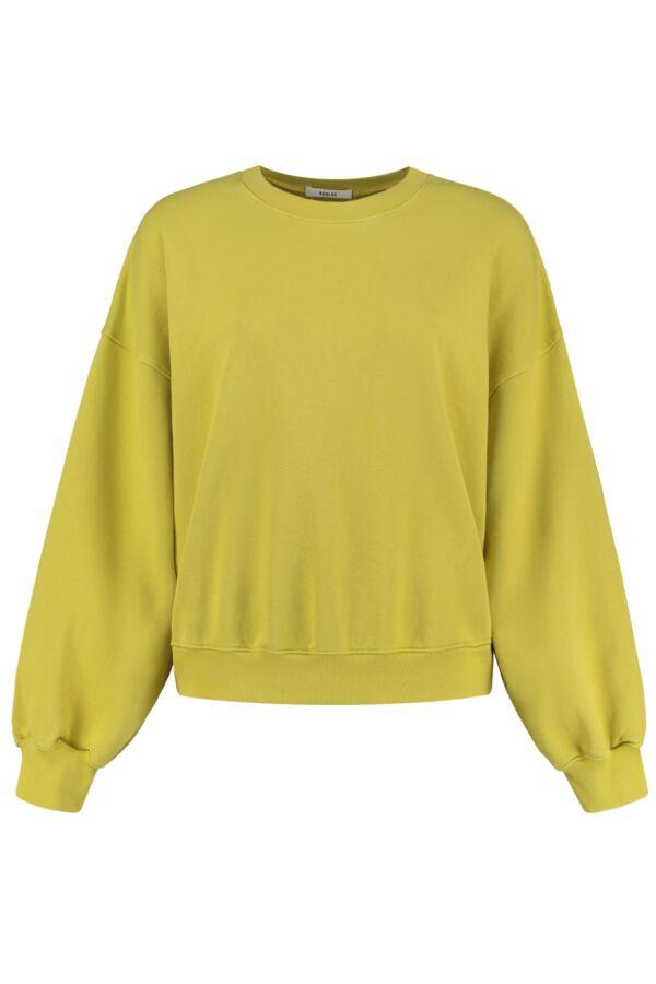 Agolde Balloon Sleeve Sweater Split Pea - A7059 SPLTP