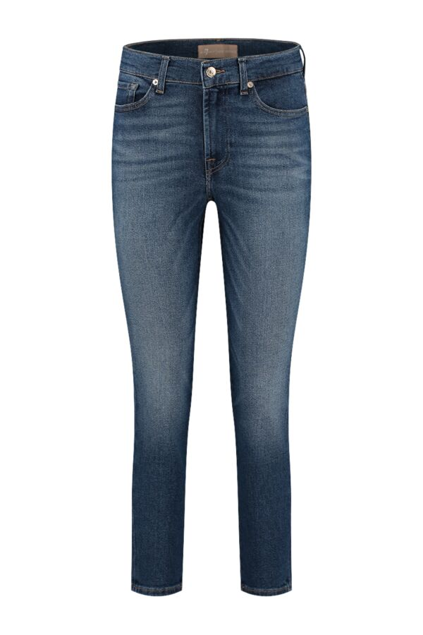 7 For All Mankind Roxanne Ankle Luxe Vintage Pacific Grove - JSVY1200GR