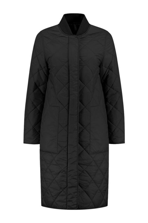 Closed Posy Coat Black - C97178 68K 22 100