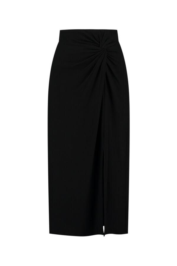 Vince Rok Jersey V712283613 001Black Knot Skirt