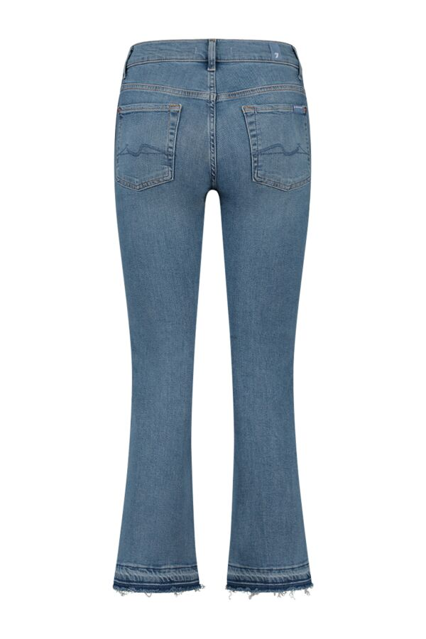 7 For All Mankind Cropped Boot Unrolled Departed JSYRA840S