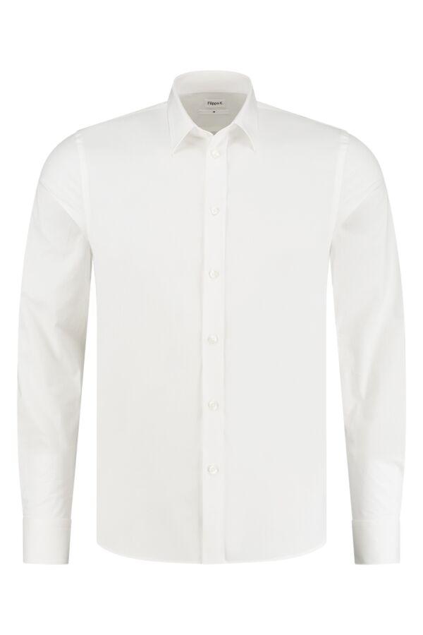 Filippa K Paul Stretch Shirt White - 27083 1009