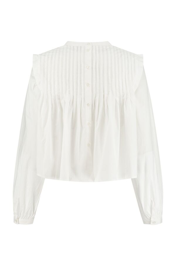 Rough Studios Brynlee Blouse White B2500PS