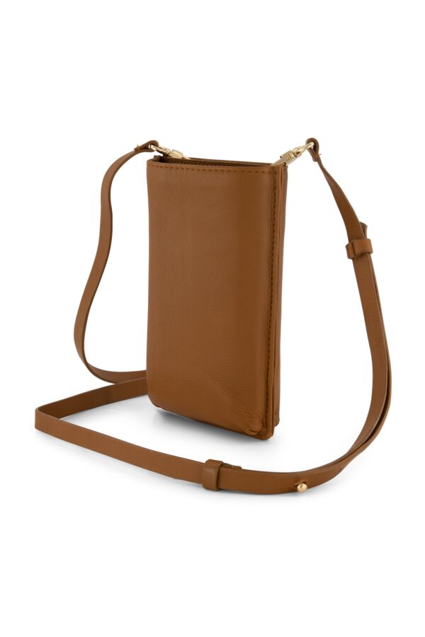 One and Other Phone Bag Caramel - SS219707 G40