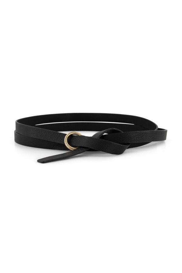 One and Other Long Belt Black - SS219801 H99