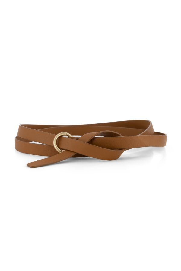 One and Other Long Belt Caramel - SS219801 G40