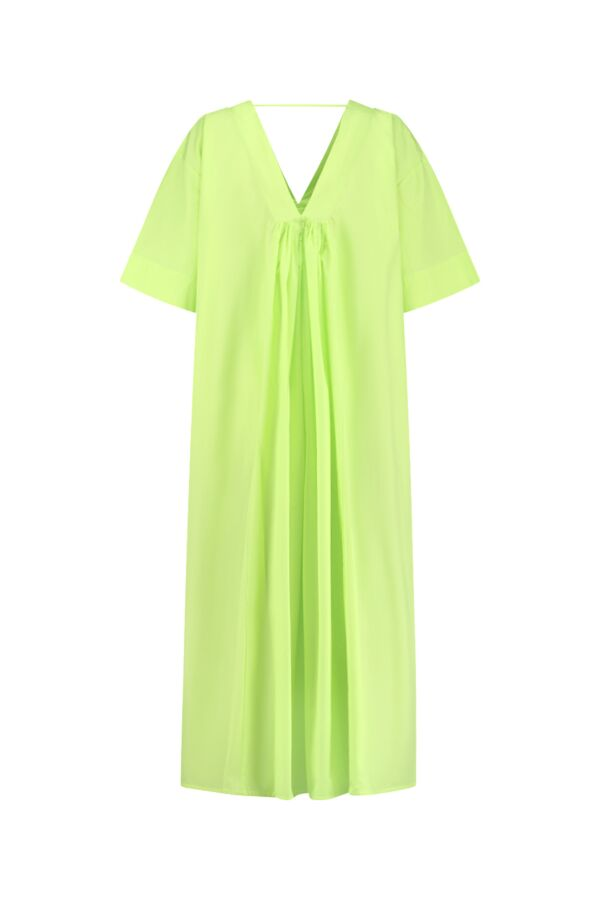 Sea Me Happy Dress Papertouch Lime