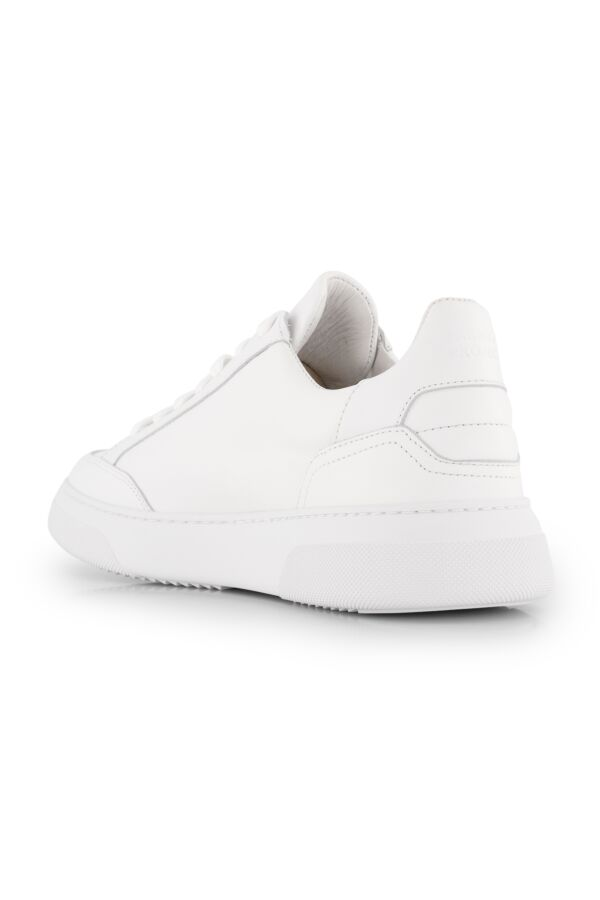 Garment Project Off Court White Leather - GP2220-100