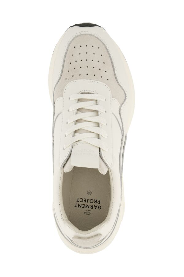 Garment Project Bailey Runner Women White Leather - GPW2099-100