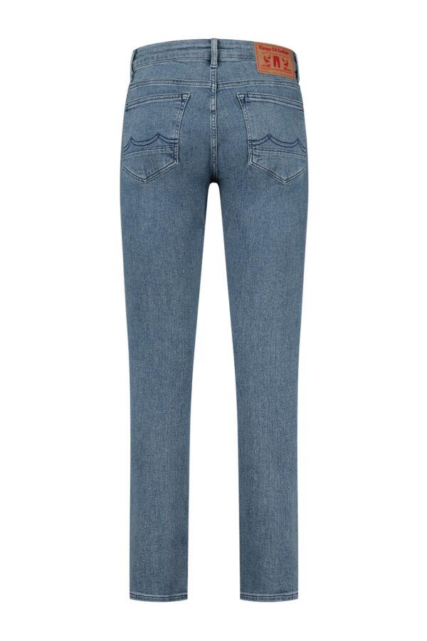 Kings of Indigo Charles Mid Rise Eco Myla Light Used Jeans - K200151205