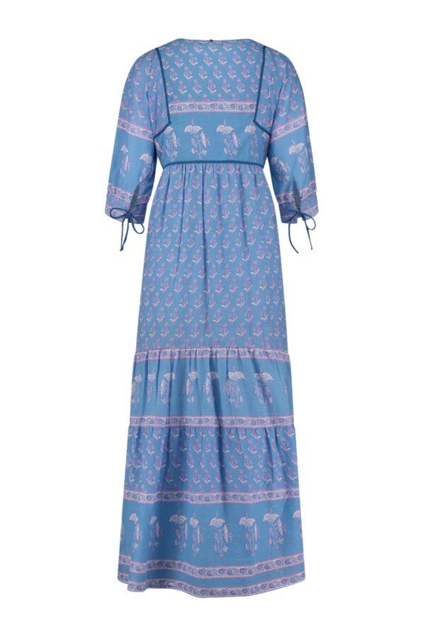 Antik Batik Mori Long Dress Blue