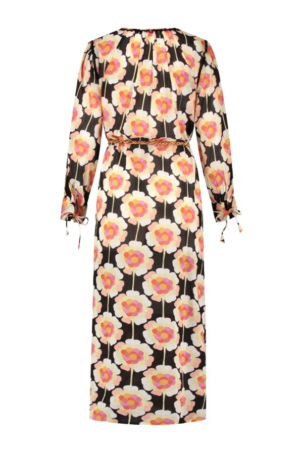Antik Batik Flowy Long Dress Black