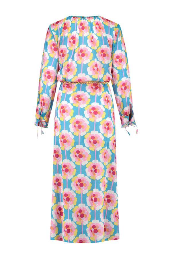 Antik Batik Flowy Long Dress Blue