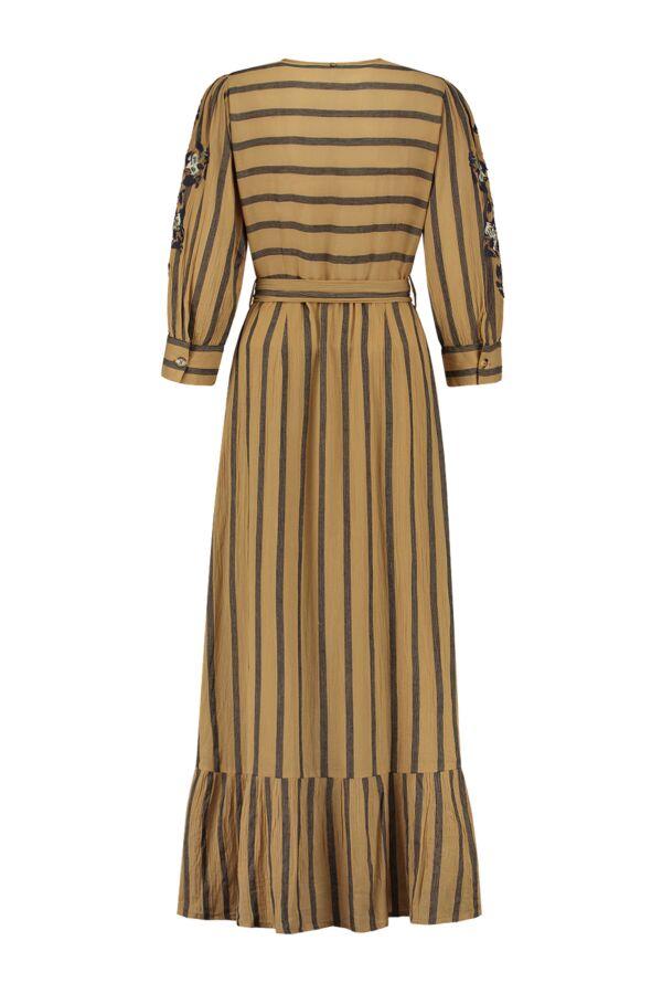 Antik Batik Rosita Long Dress Camel