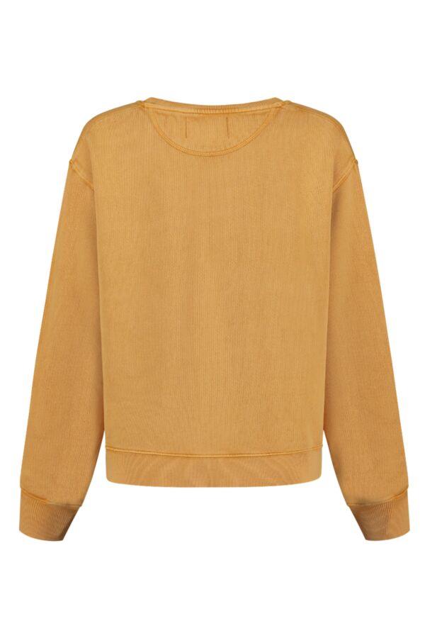 Leon and Harper Sortie Breathe Sweater Gold