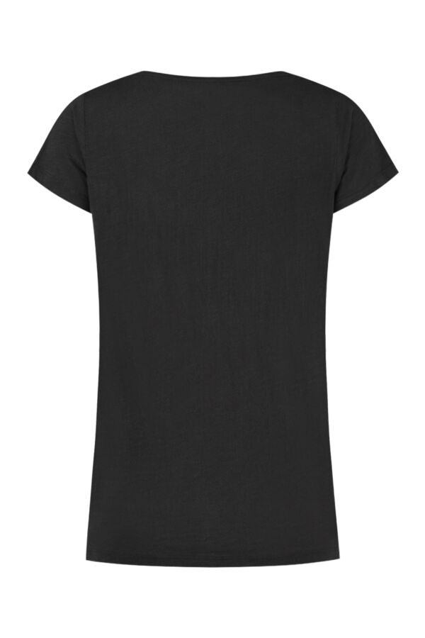 Leon and Harper Tonton Palm T-Shirt Carbone