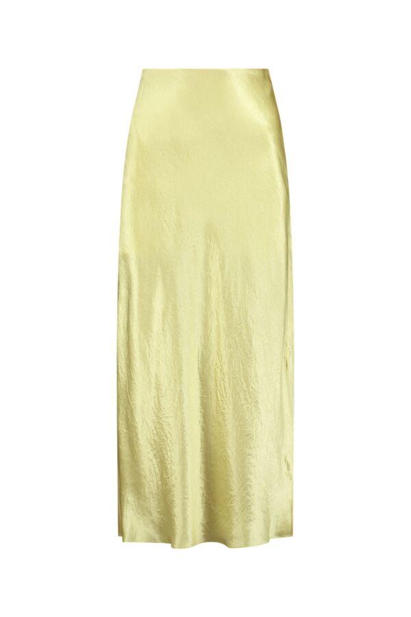 Vince Side Split Slip Skirt Sun Stone - V739230667 770