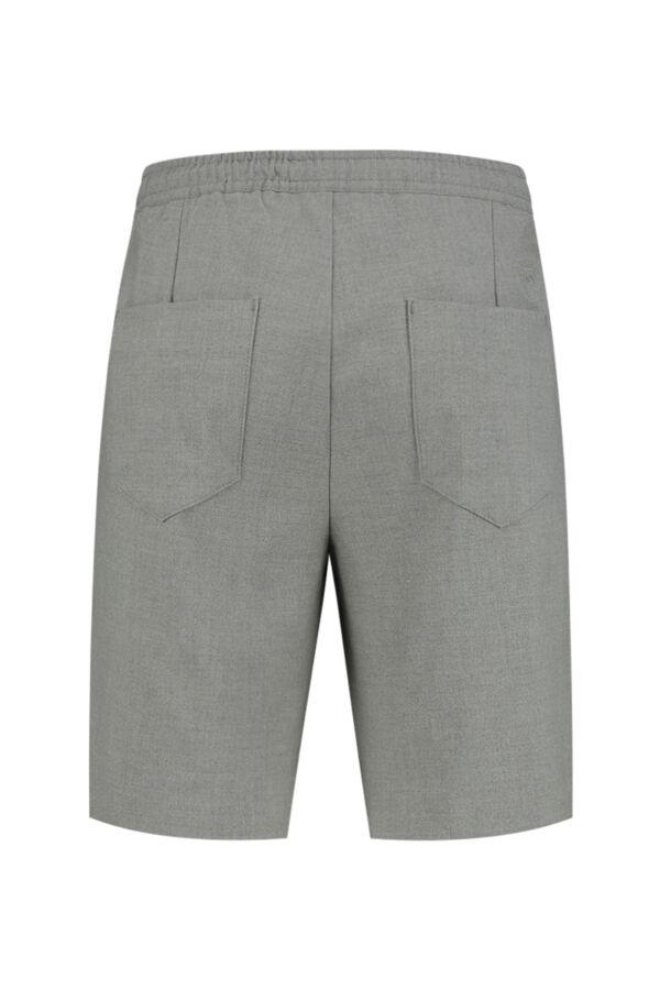 Knowledge Cotton Apparel Fig Loose Club Shorts Grey Melange - 50225 1012