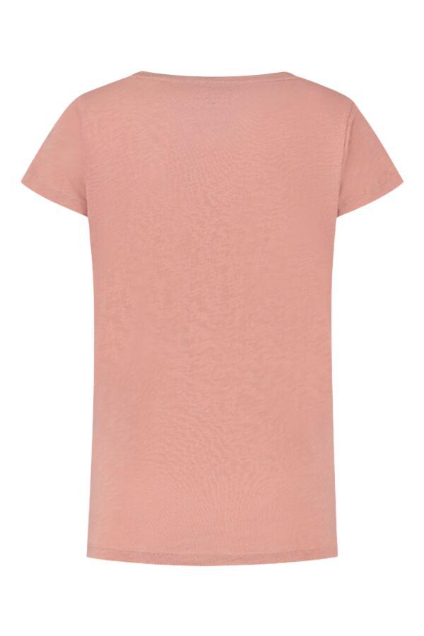 Leon and Harper Tonton Palm T-Shirt Rose