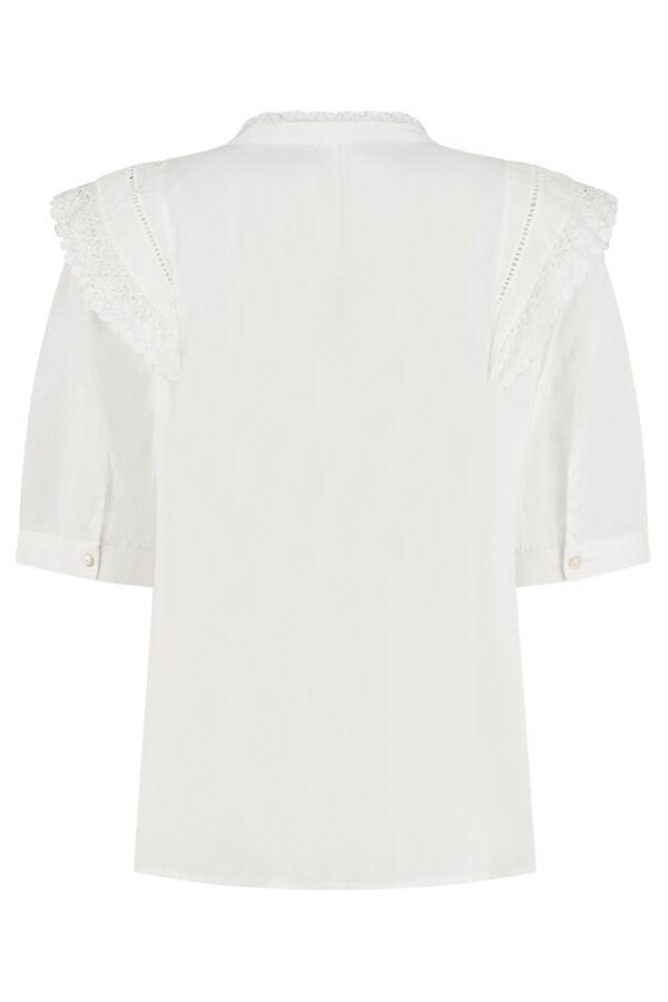 Bash Iseut Top Blanc - 1E21ISEU