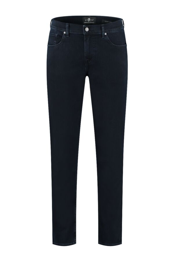 7 For All Mankind Slimmy Tapered Luxe Performance Blue Black - JSMXB780LB