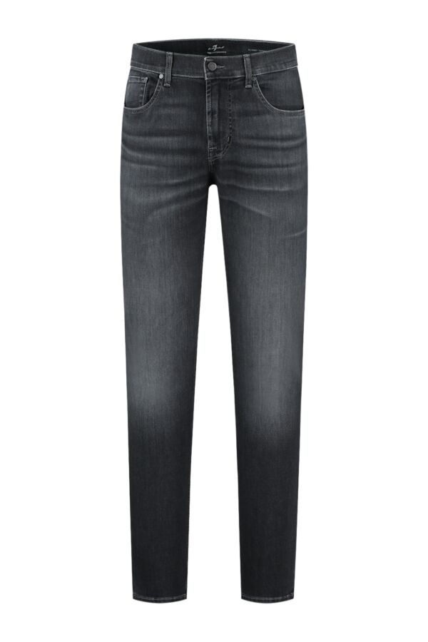 7 For All Mankind Slimmy Tapered Luxe Performance Grey - JSMXB820LG