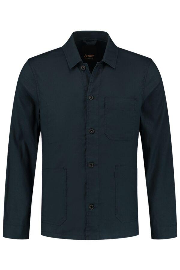 Denham Jeans Mao Jacket BLCLS Blue Wing Teal - 01-21-05-20-020