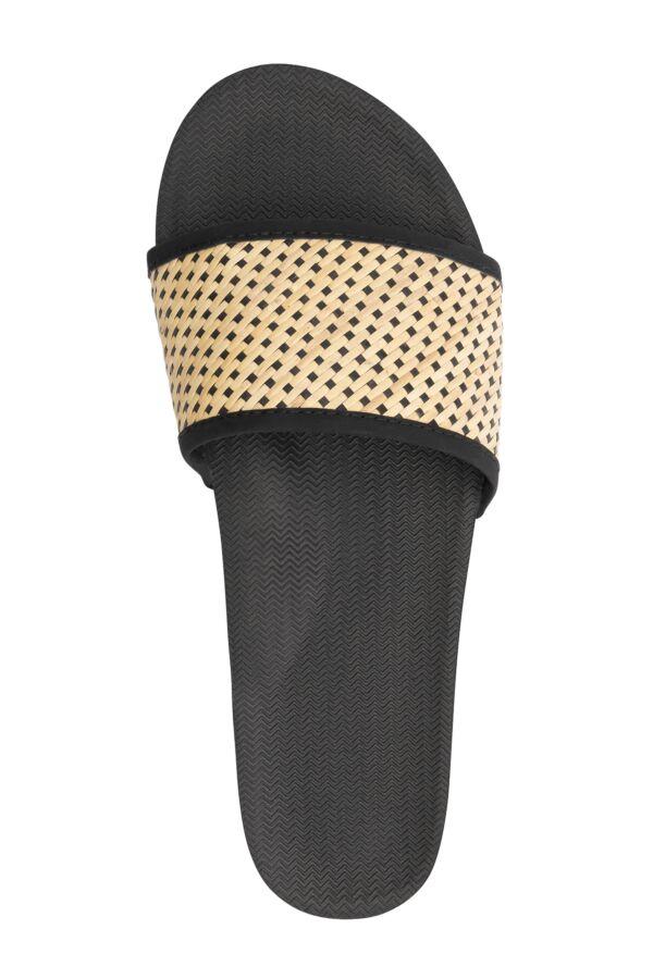 Indosole Slides Weave Black Batit Light - 622001021F