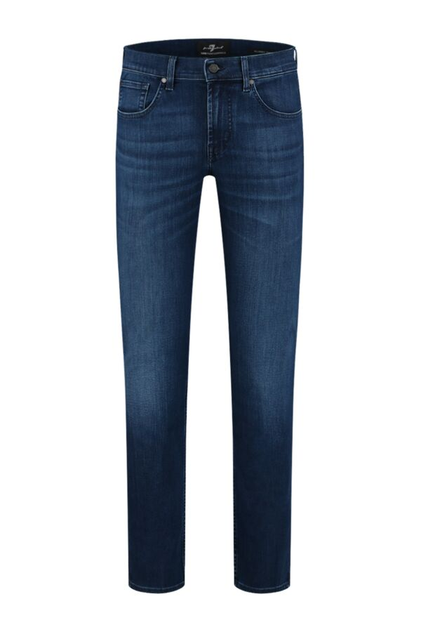 7 For All Mankind Slimmy Tapered Luxe Performance Eco Indigo Blue - JSMXB800LI