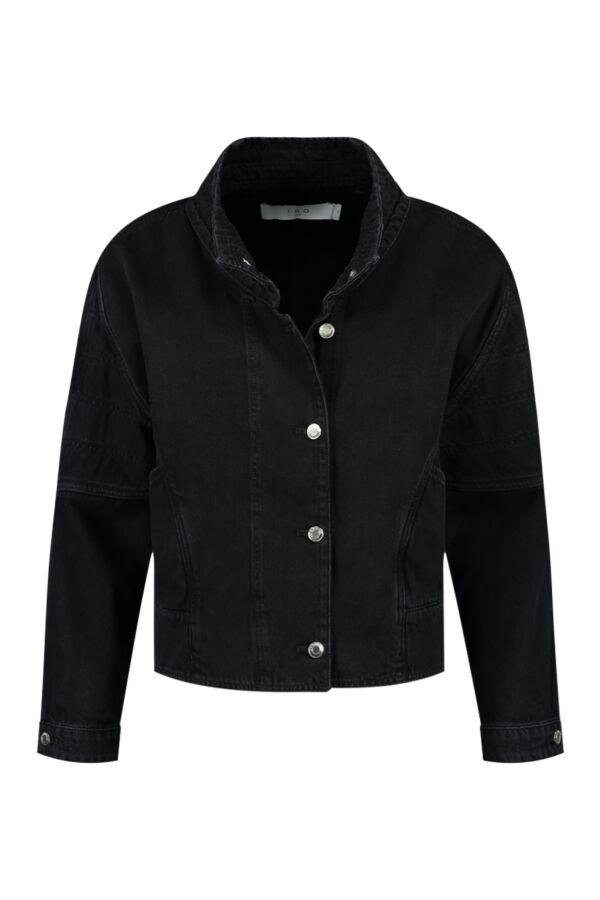 Iro Paris Norac Jacket Black Stone - WP08NORAC