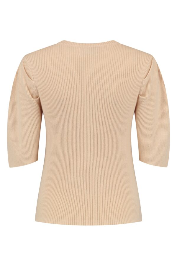 One and Other Sonia Pullover Cream - PF213004 A06
