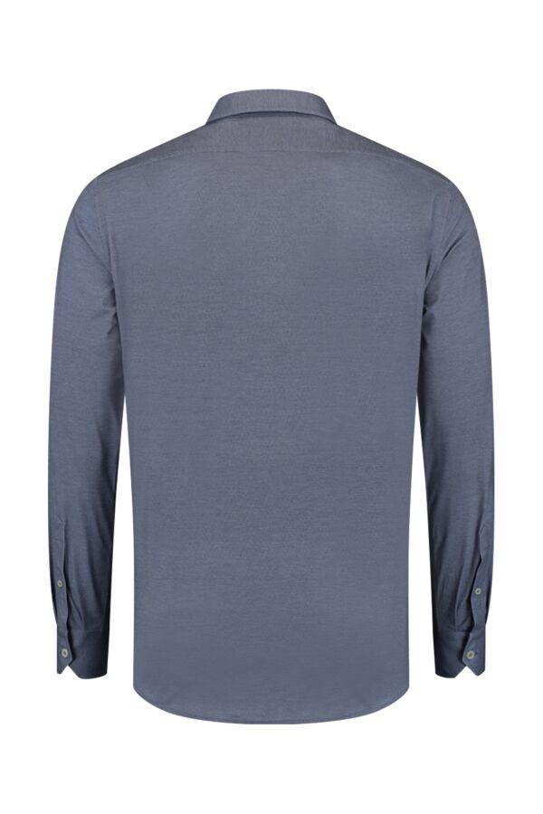 Traiano Rossini Radical Fit Shirt Dark Blue - TCR04S TS09 TBL3