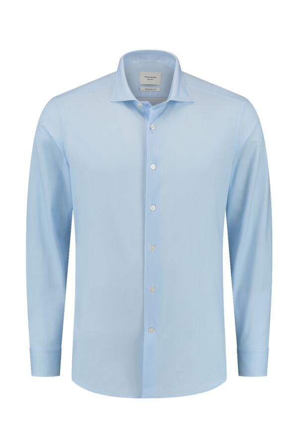 Traiano Rossini Regular Fit Shirt Light Blue - TCG04S TS09 TBL2