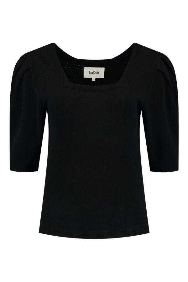Bash Fleur Pullover Noir - 1H21FLEU
