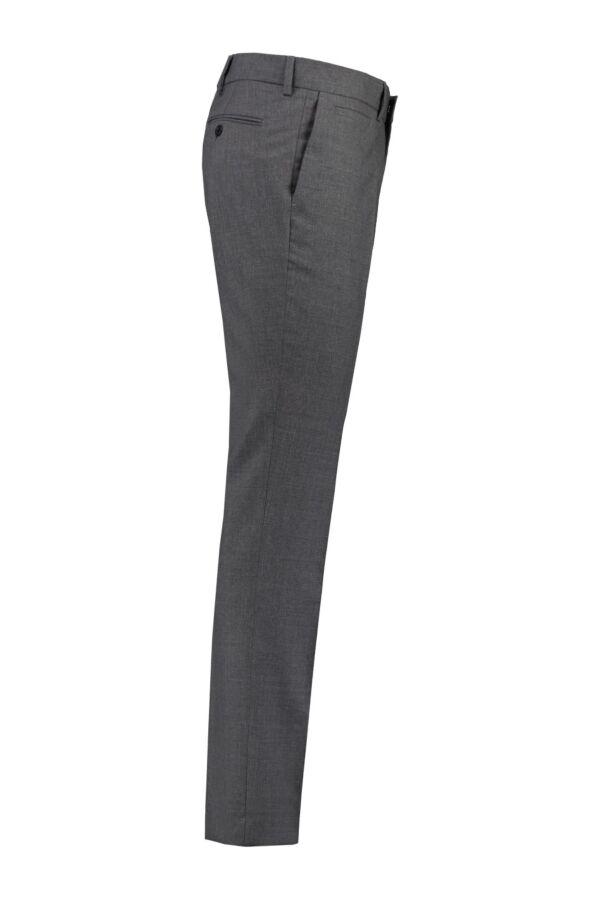 Christian Cool Wool Slacks van Filippa K in de kleur Grey Melange - 2-12-18021