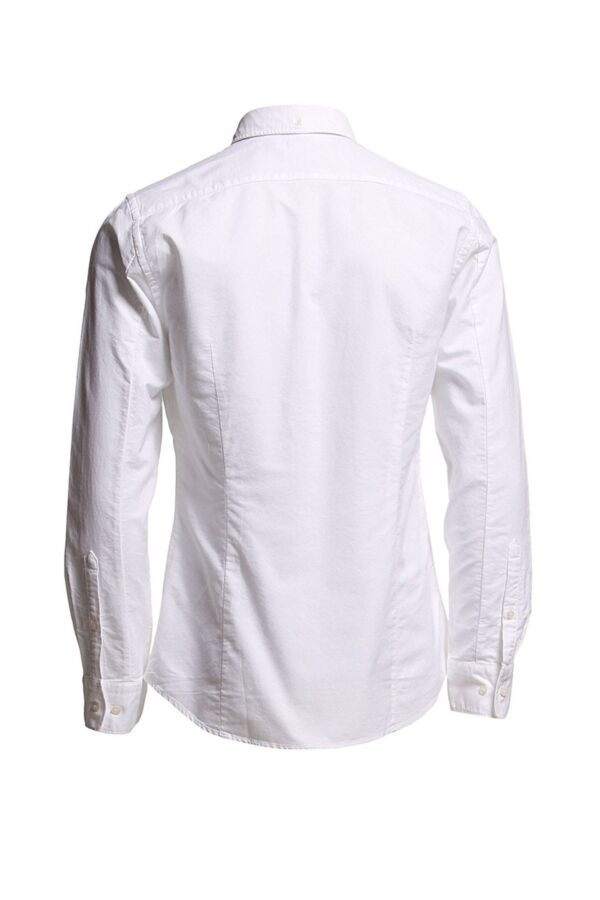 Filippa K M. Paul Oxford Shirt in White - 15099 1009